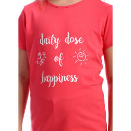 Tricou Summer Days Coral