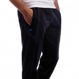 Pantalon Slim Zipper Bleumarin