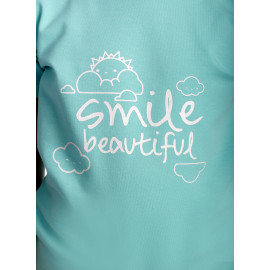 Tricou Happy Smile Kids Aqua