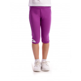 Pantalon Free Time Walking Violet+Alb