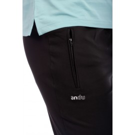 Pantalon Slim Leg Zipper