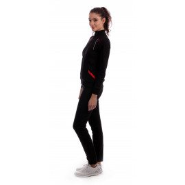 Trening Spring Collection Negru+Rosu
